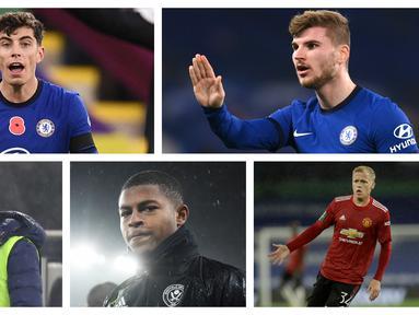 Kumpulan foto-foto lima pemain bintang yang dibeli mahal oleh klub namun belum memperlihatkan performa terbaiknya. (Foto: AFP & AP)