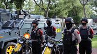 Personel polisi ikuti Apel Gelar Pasukan Operasi Lilin Toba di Mapolda Sumut