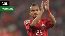 Berita video gol fantastis gelandang Persija Jakarta, Riko Simanjuntak, ke gawang PSIS Semarang dalam lanjutan Gojek Liga 1 2018 bersama Bukalapak, Selasa (18/9/2018).