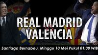 Real Madrid vs Valencia (bola.com/samsulhadi)