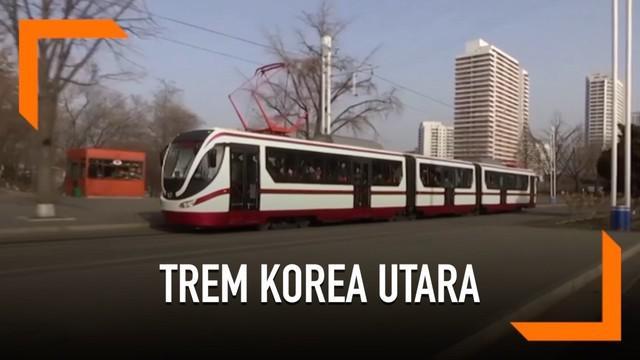 Korea Utara menyatakan kedatangan trem baru yang digunakan untuk promosi domestik.