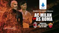 PREDIKSI AC MILAN VS AS ROMA (Liputan6.com/Abdillah)