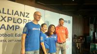 Allianz Explorer Camp Football Edition 2019 (Foto: Liputan6.com/Maulandy R)