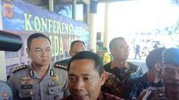 Direktur Direktorat Reserse Kriminal Khusus (Ditkrimsus) Polda Jawa Barat Kombes Pol. Samudi. (Huyogo Simbolon)