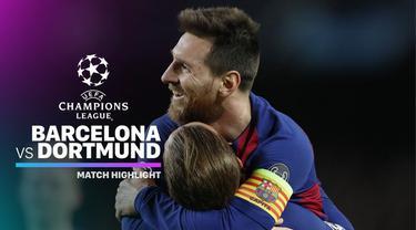 Berita video highlights matchday 5 Grup F Liga Champions 2019-2020 antara Barcelona melawan Borussia Dortmund yang berakhir dengan skor 3-1, Rabu (27/11/2019).