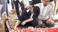 Pemakaman Rudy Wowor (Zulfa Ayu Sundari/Liputan6.com)