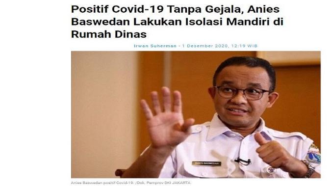 Gambar Tangkapan Layar Artikel dari Situs pikiran-rakyat.com