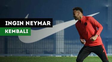 Lionel Messi dikabarkan Independent inginkan Neymar kembali ke Barcelona.