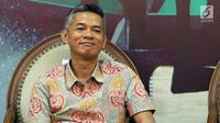 Komisioner KPU Wahyu Setiawan menjadi narasumber diskusi panel Himpunan Mahasiswa Pascasarjana Indonesia di Jakarta, Jumat (23/2). Diskusi membahas Pilkada Serentak dan Pemilu dengan tema Pemilih Berdaulat, Negara Kuat. (Liputan6.com/JohanTallo)