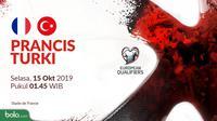 Kualifikasi Piala Eropa 2020 - Prancis Vs Turki (Bola.com/Adreanus Titus)