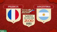 Piala Dunia 2018 Prancis Vs Argentina (Bola.com/Adreanus Titus)