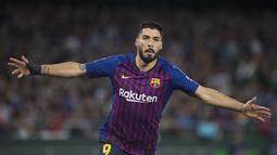 2. Luis Suarez (Barcelona) - 21 gol dan 6 assist (AFP/Jorge Guerrero)