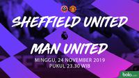 Premier League: Sheffield United vs Manchester United. (Bola.com/Dody Iryawan)