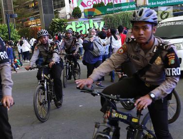 Melihat Kesigapan Polisi dan Dishub Atur Lalu Lintas Jelang Penutupan Asian Games 2018