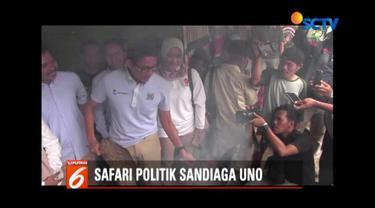 Datangi Kelompok Sate Ambal, Sandiaga Uno janji majukan Kabupaten Kebumen.