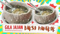Penasaran seperti apa istimewanya bakso rusuk mangkuk raksasa yang satu ini? (Foto: Kokiku Tv)
