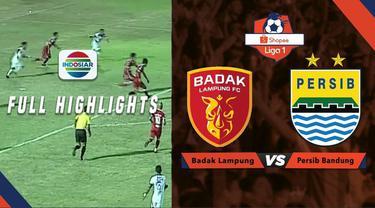 Berita video highlights Shopee Liga 1 2019, Persib Bandung bermain imbang melawan Badak Lampung FC.