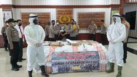 Keluarga Besar Akpol Awak Geutanyoe Aceh Sumbang 500 APD untuk Polda Aceh