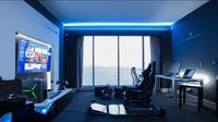 Hotel khusus gamer yang dibangun oleh Alienware. (Foto: Alienware)