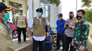 Bupati Tangerang Bubarkan Kerumunan Masyarakat di Kawasan Wisata Tanjung Pasir