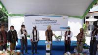 Peresmian pengoperasian listrik 24 jam di , Pulau Rinca dan Desa Komodo, Pulau Komodo Kabupaten Manggarai Barat, Provinsi Nusa Tenggara Timur (NTT). (Foto:PLN)