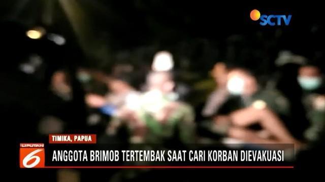 Seorang anggota brimob tertembak oleh kelompok kriminal bersenjata di Papua. Korban langsung dievakuasi ke RS Wamena untuk mendapatkan perawatan.