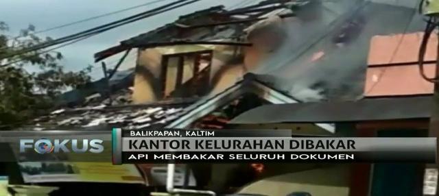 Seorang pegawai mengamuk dan membakar Kantor Kelurahan Graha Indah di Balikpapan Utara, lantaran kontraknya tak diperpanjang.