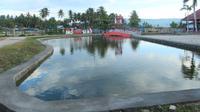 Berakhir Pekan dengan Menikmati Khasiat Kolam Air Panas Bumi Pentadio Resort. (Liputan6.com/Arfandi Ibrahim)