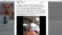 Pengemudi Taksi Online Wanita Ini Bikin Kerangkeng Besi @FrankyPaulus86))