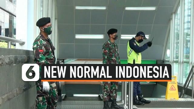 THUMBNAIL POLRI TNI BERJAGA NEW NORMAL