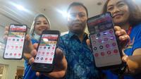 Sobatku adalah tabungan online berbasis aplikasi produk dari KSP Sahabat Mitra Sejati, yang berkantor pusat di Gedung Sampoerna Strategic Square Jakarta, yang siap bersaing dengan fintech lain. (Liputan6.com/ Switzy Sabandar)