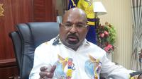 Gubernur Papua, Lukas Enembe. (Liputan6.com/kabarpapua/Katharina Janur)