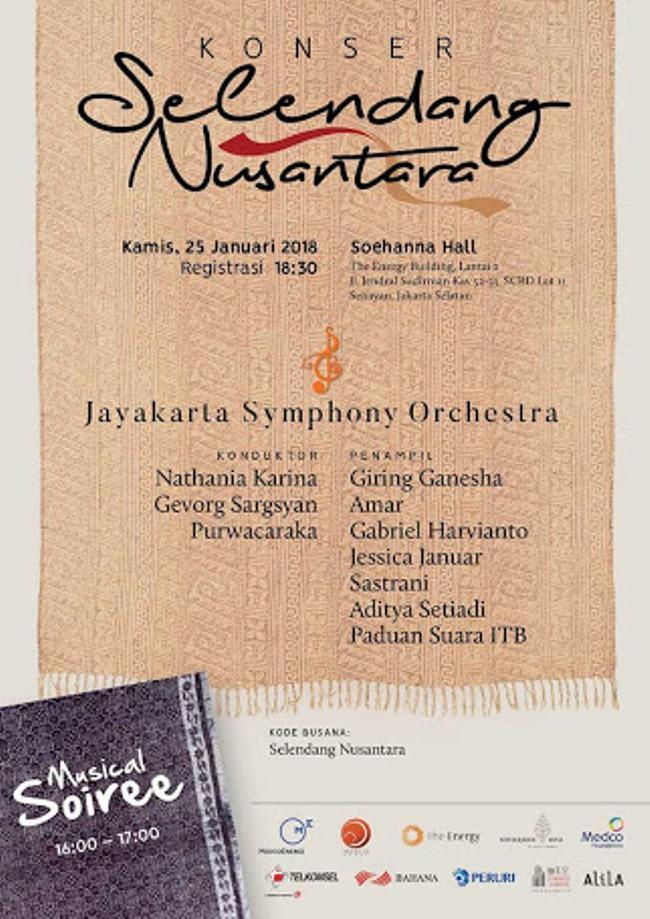 Konser Selendang Nusantara. (Istimewa)