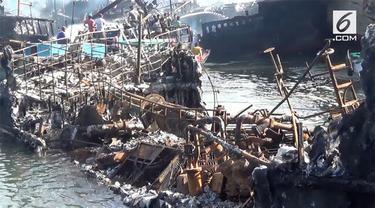 Pusat laboratorium forensik Polri memulai penyelidikan kebakaran yang terjadi di pelabuhan Benoa, Bali.
