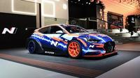 Mobil balap bertenaga listrik milik Hyundai siap balapan mulai tahun depan. (Hyundai)