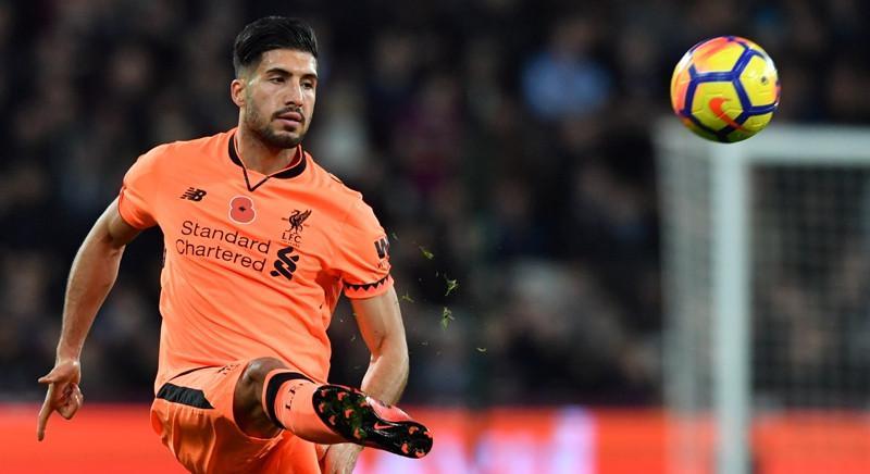 Gelandang Liverpool, Emre Can. (AFP/Ben Stansall)