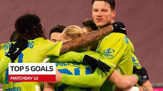 Berita video, aksi tendangan voli dari pemain Bayer Leverkusen masuk kedalam 5 gol terbaik Bundesliga pekan ke-12