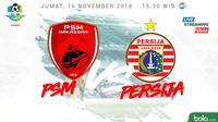 Liga 1 2018 PSM Makassar Vs Persija Jakarta (Bola.com/Adreanus Titus)