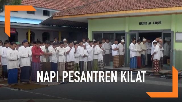 Untuk mengisi waktu luang saat puasa Ramadan. Narapidana di Lapas IIB Jombang melakukan pesantren kilat. Mereka mengaji dan mendengarkan ceramah keagamaan.