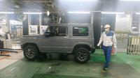 Produksi Suzuki Jimny di pabrik Kosai, Jepang (Arief A/Liputan6.com)