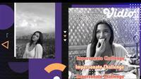 Angela Gilsha Bermain Impersonate Challenge Dalam BTS Samudra Cinta. sumberfoto: SCTV