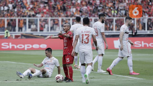 Shopee Liga 1 : Persija Jakarta Vs Borneo FC
