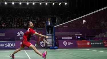 Badminton : Indonesia Vs Hong Kong