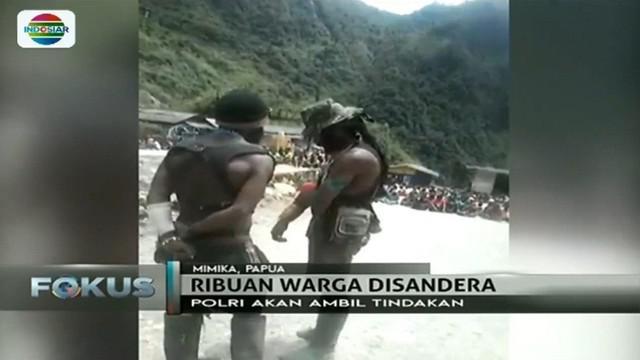 Kelompok kriminal bersenjata masih menguasai 2 distrik di Tembagapura, Papua. Upaya persuasif masih dilakukan aparat.