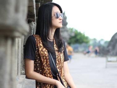 Gaya OOTD Vivian Tania Finalis Miss Indonesia 2017, Kece dan Modis