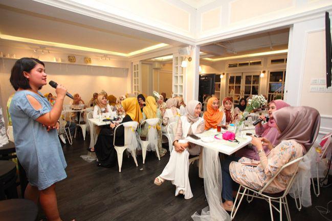 Serunya acara Stay Glow During Ramadan with Melanox