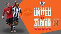 Manchester United vs West Bromwich Albion (Liputan6.com/Ari Wicaksono)
