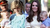 Mengintin keanggunan dan kecantikan Kate Middleton saat bergaya seperti Princess Diana (Sumber Foto: Getty/PA/HuffingtonPost)