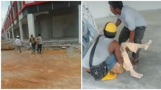 Viral Nenek Dikubur Hidup-hidup di Proyek Bangunan, Diselamatkan di Area Lumpur