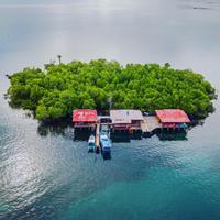 Pulau Bentenan, Minahasa, Sulawesi Utara. (Sumber Foto: nala_rinaldo/Instagram)